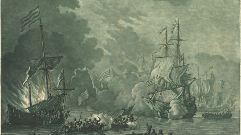 battle against Barbary pirates