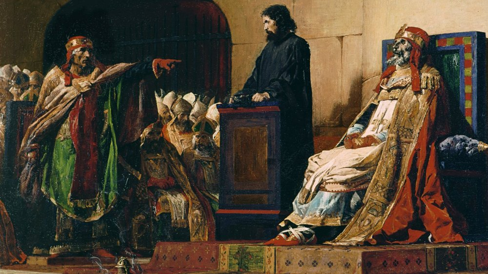 Pope Formosus during the Cadaver Synod
