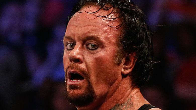 The Undertaker shocked
