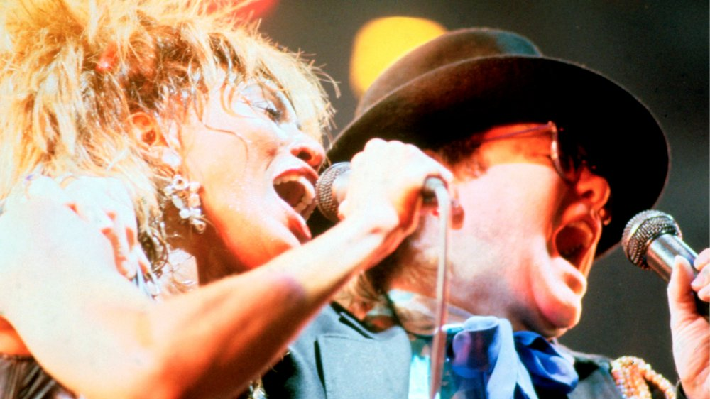 Tina Turner and Elton John