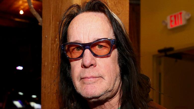 Todd Rundgren outside studio
