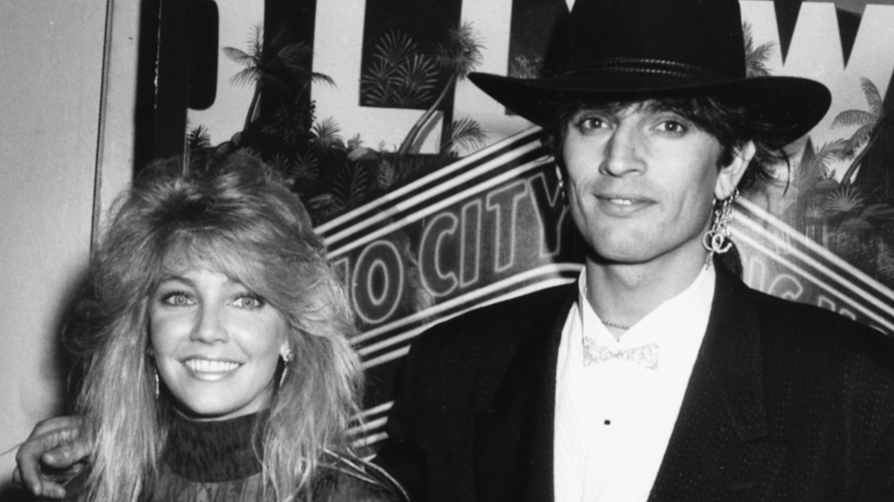 Heather Locklear with Tommy Lee