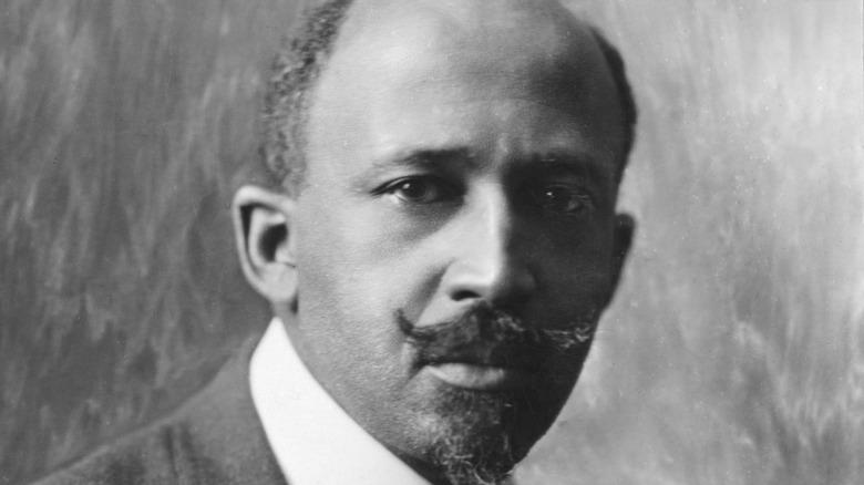 W.E.B. Du Bois posing