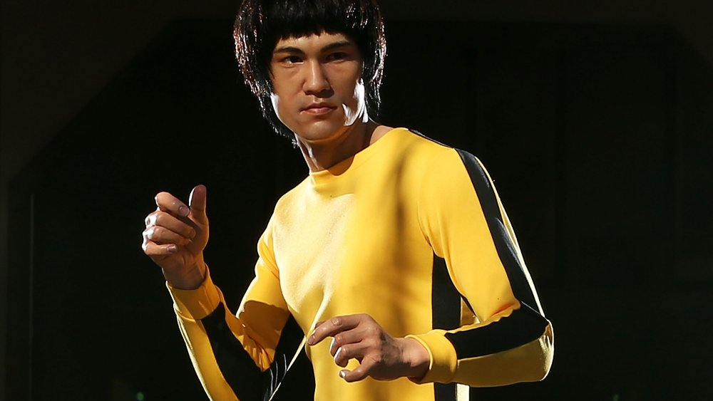 Bruce Lee yellow tracksuit game of death