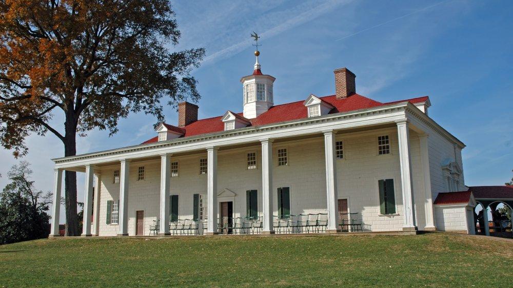 Mt. Vernon mansion
