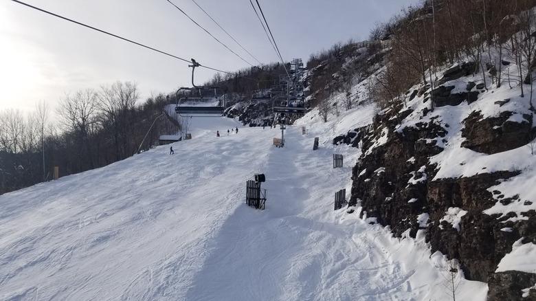 ski slope at Hunter Mountain
