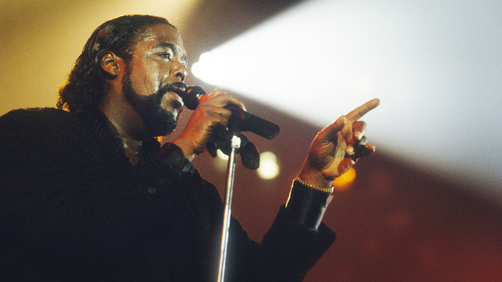 Barry White, 1987