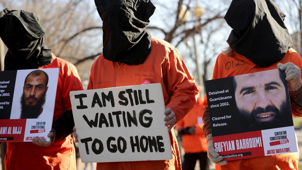 Guantanamo protestors