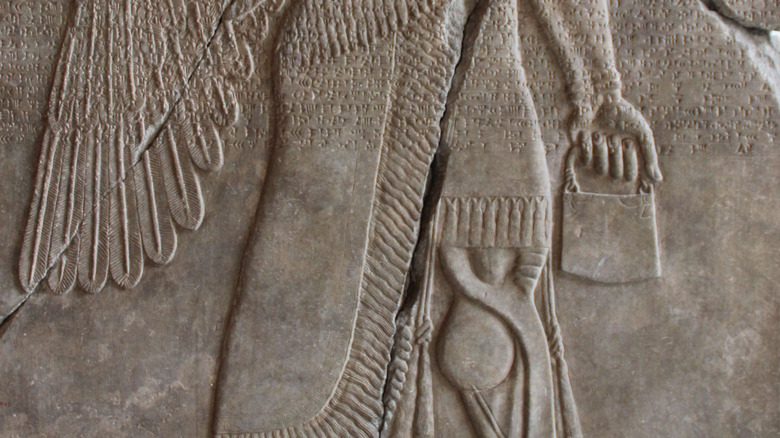 Assyrian god Apkallu, 9th century BCE