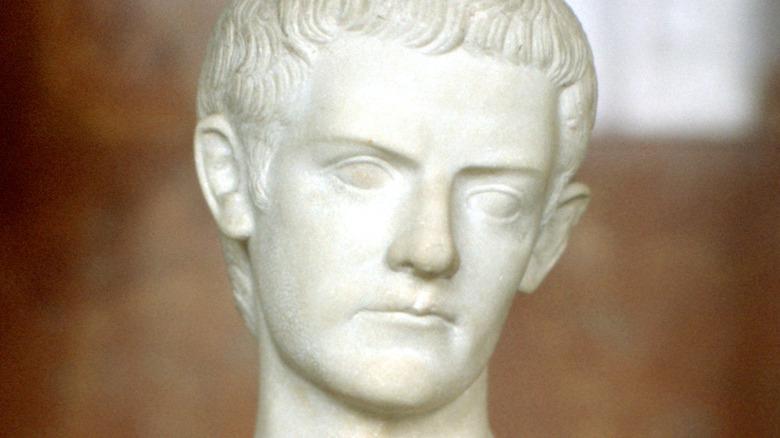 bust of Caligula