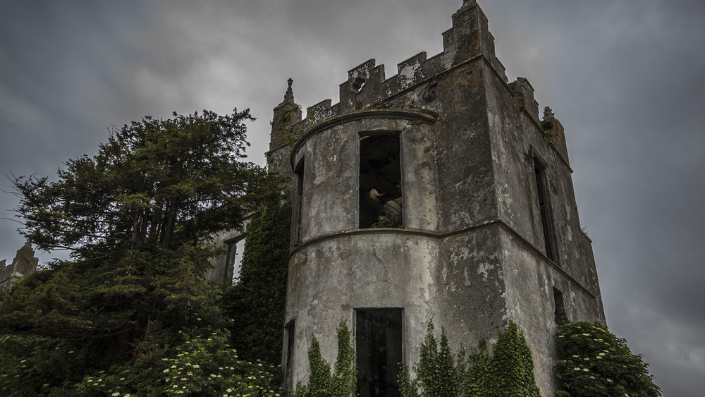 """A """"haunted castle"""""""