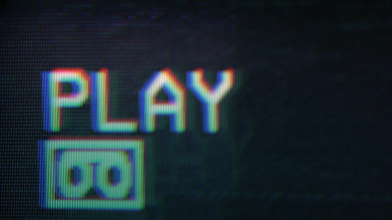 VHS Play sign