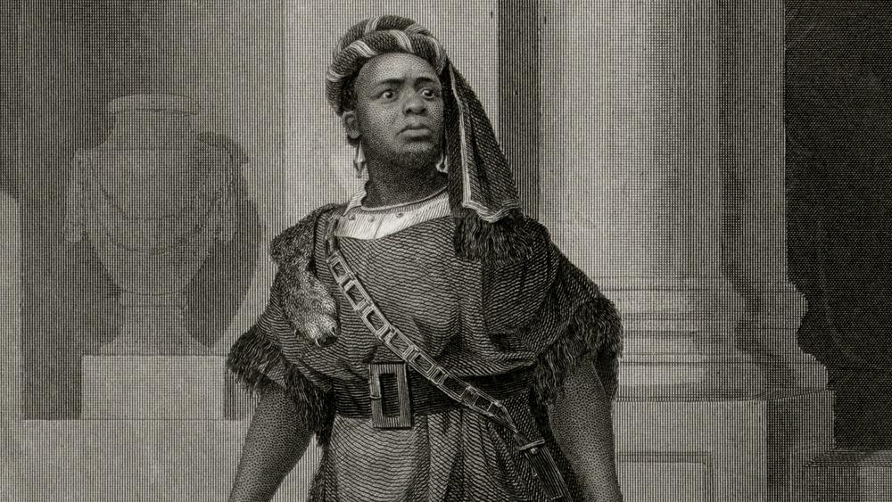 Ira Aldridge in Titus Andronicus