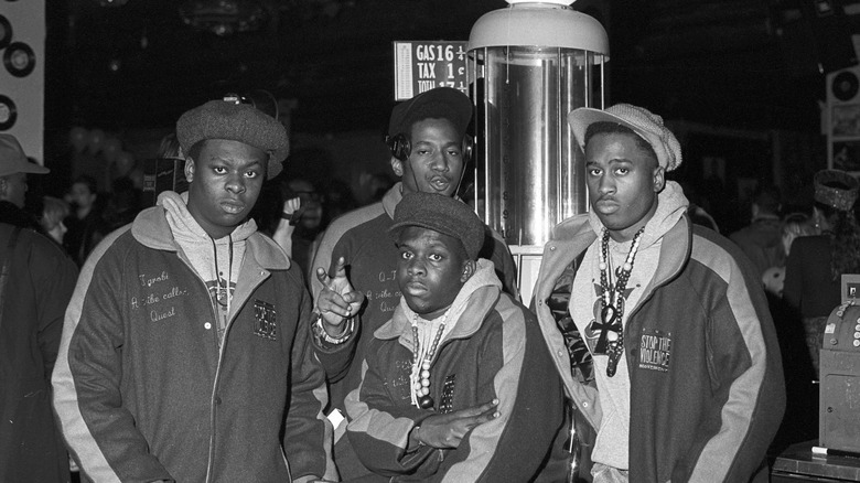 A Tribe Called Quest in 1990