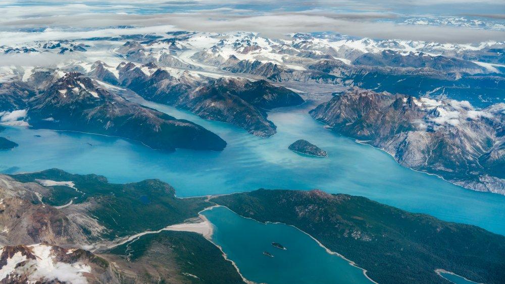 Above the Alaskan Triangle