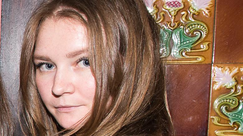 Anna Sorokin (Delvey) poses