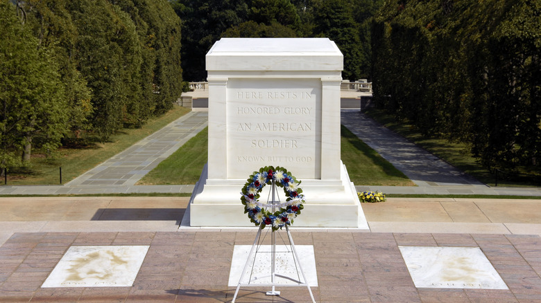 Tomb of the Unknown Soldier Arlington National Cemetery