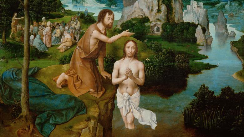 Baptism of Christ, Joachim Patinir