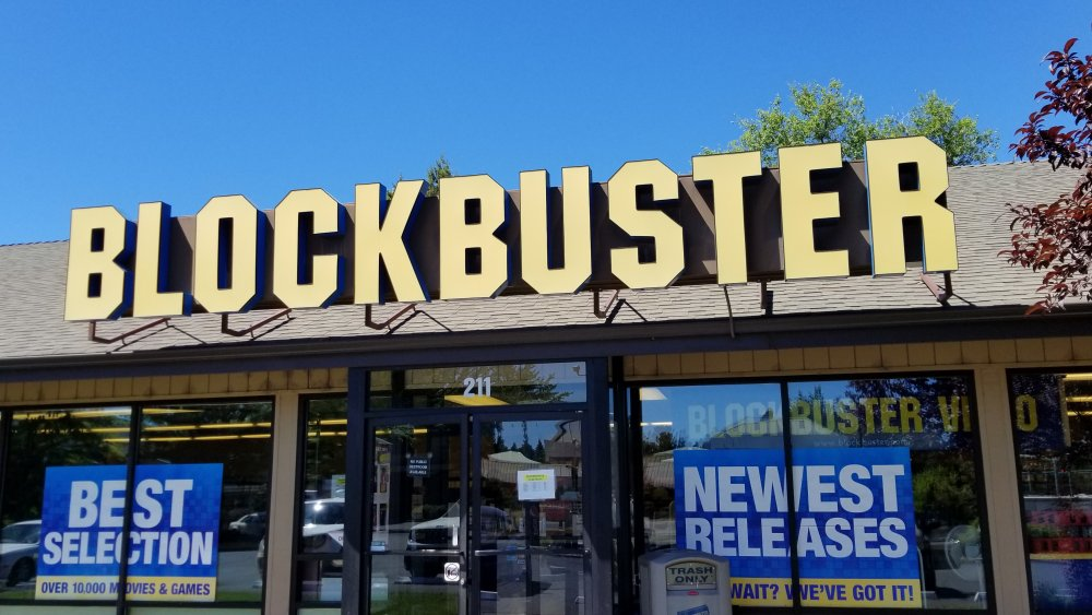 Blockbuster Video in Bend, OR in August 2018