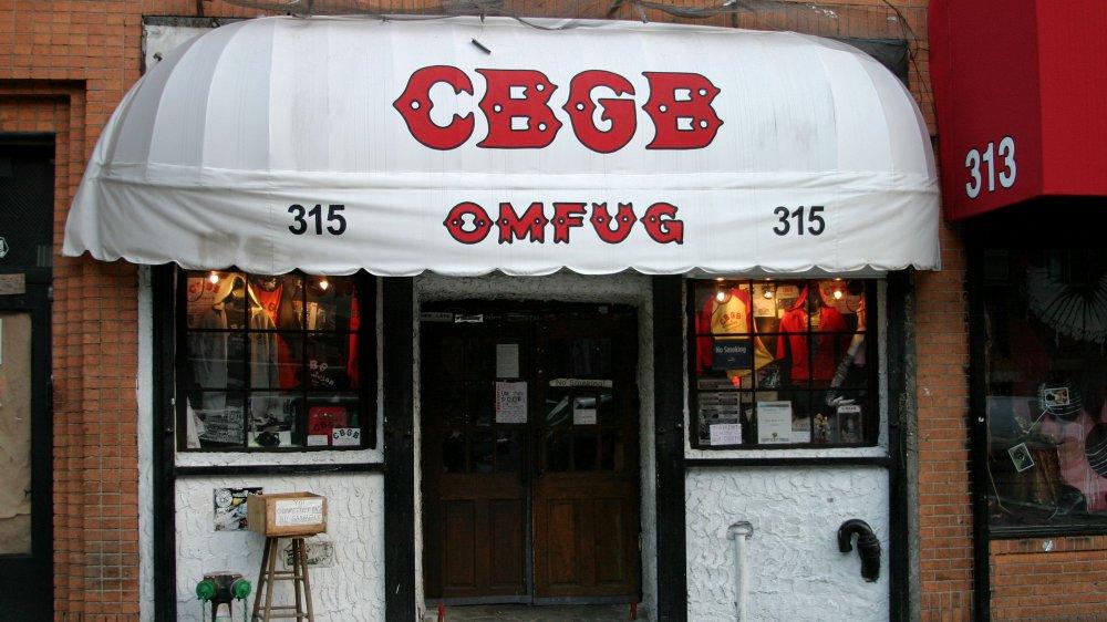 CBGB in 2003