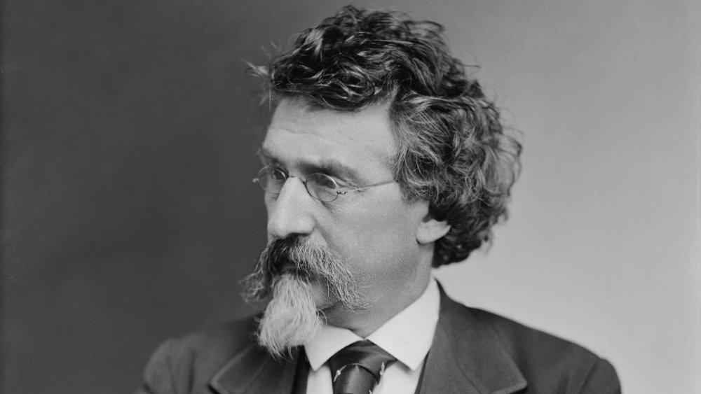 Mathew B. Brady (1823-1896), prominent American photographer, created a successful portrait business prior to the U.S. Civil War. Ca. 1870.