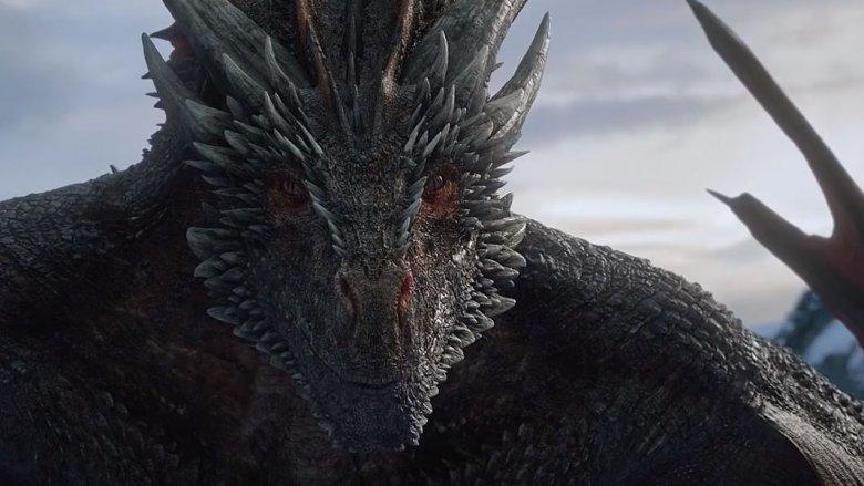 dragon game of thrones weird face