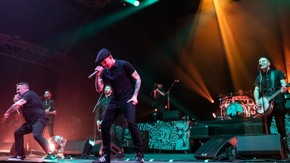 Dropkick Murphys performing live