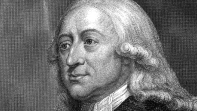Woodcut of John Wesley