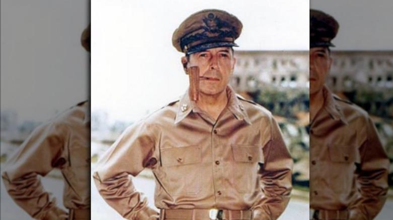 General Douglas MacArthur in Manila, 1945