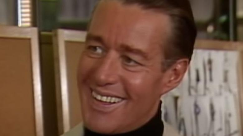Halston smiling