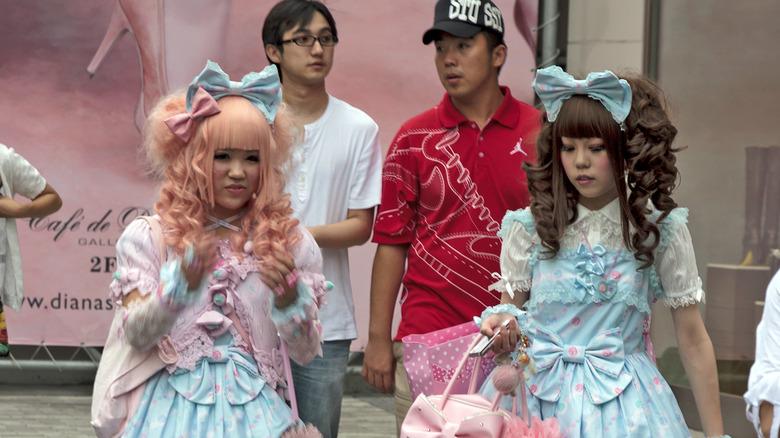 Lolitas in Harajuku