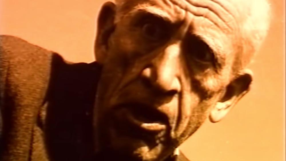 Elderly J. D. Salinger