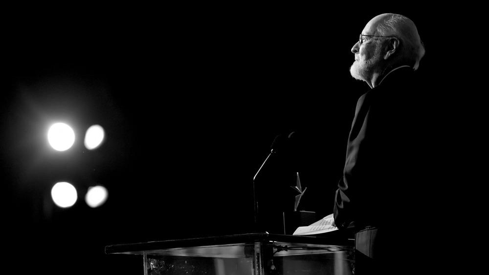 John Williams on stage