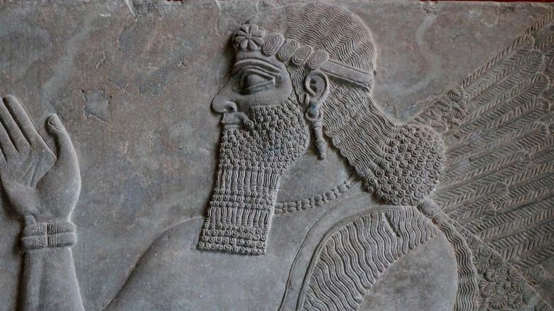 Bas-relief of Nebuchadnezzar II