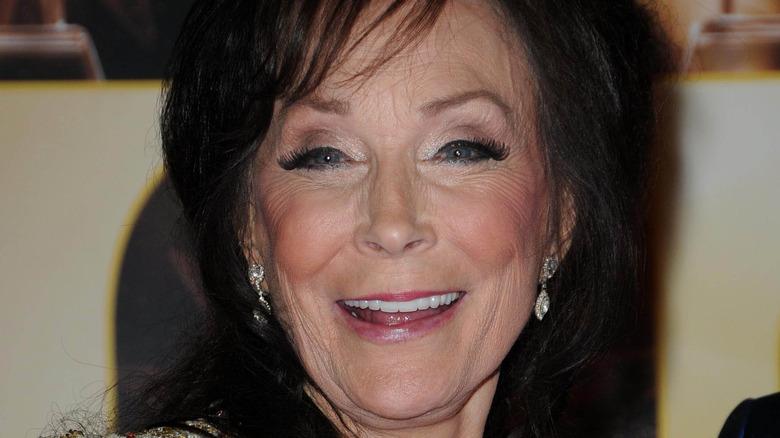 Loretta Lynn close-up