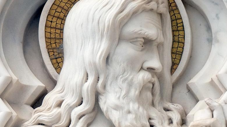 Sculpture of Methuselah