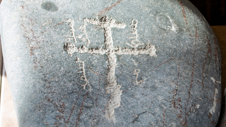 Nestorian Cross Central Asia
