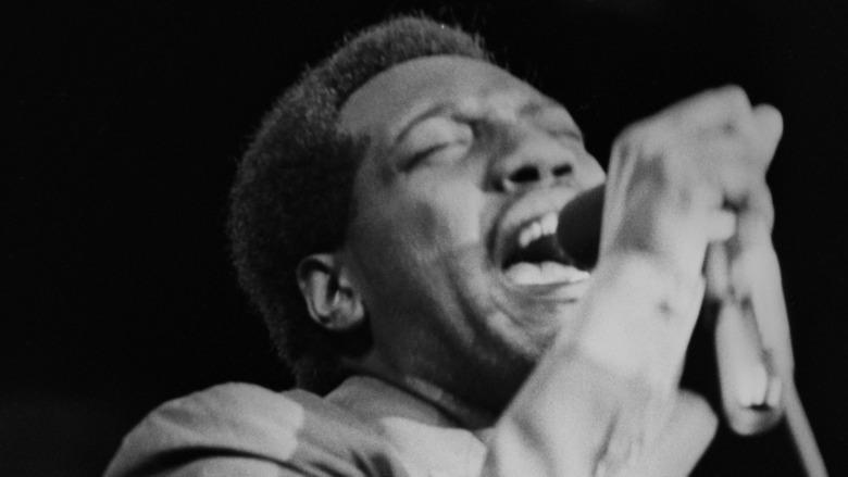 Otis Redding singing
