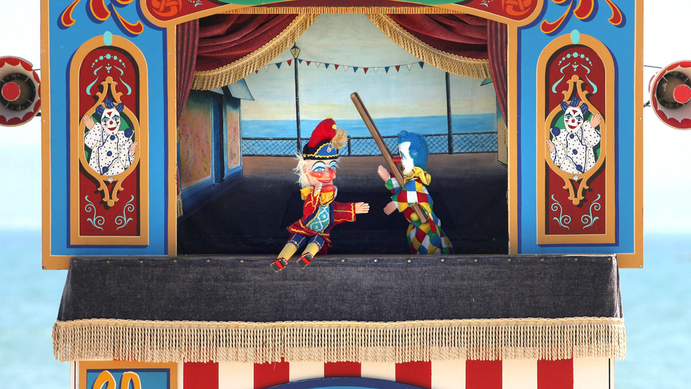 traditional Punch and Judy show