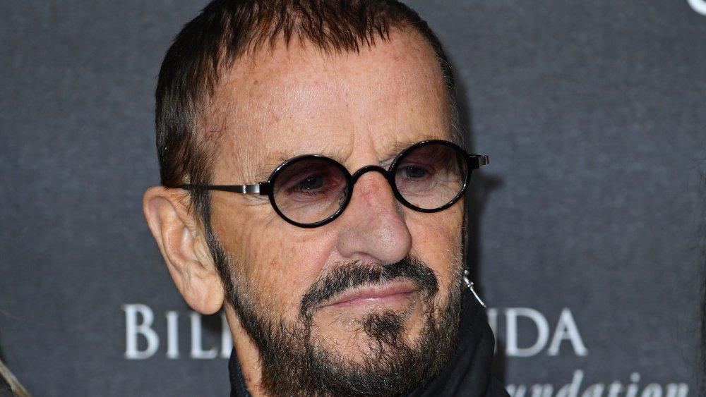 A close-up shot of Ringo Starr
