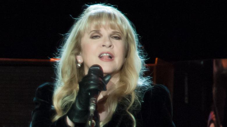 Stevie Nicks performing in 2013