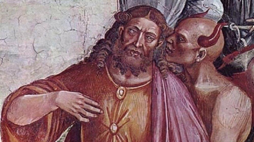 antichrist tempting jesus