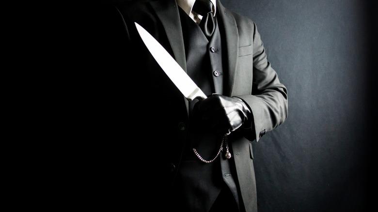 Killer with a knife