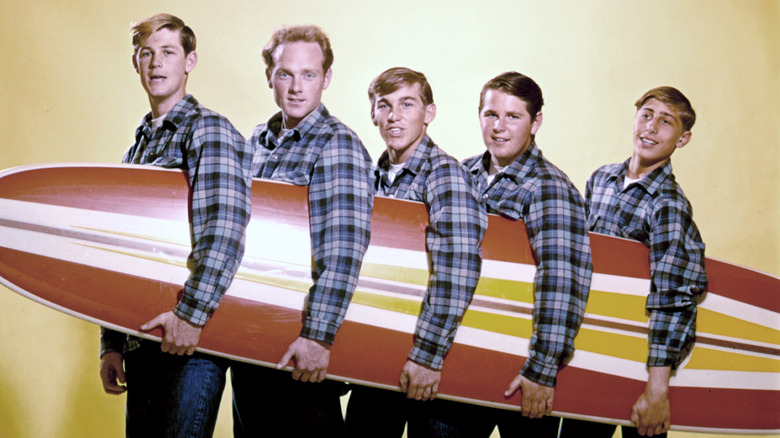 "The Beach Boys 1962 cover for ""Surfin USA"""