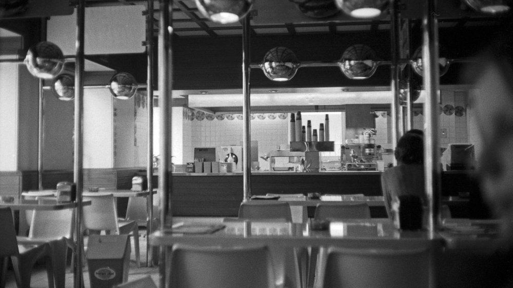 Burger Chef interior
