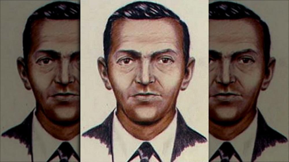 Police sketch of D.B. Cooper