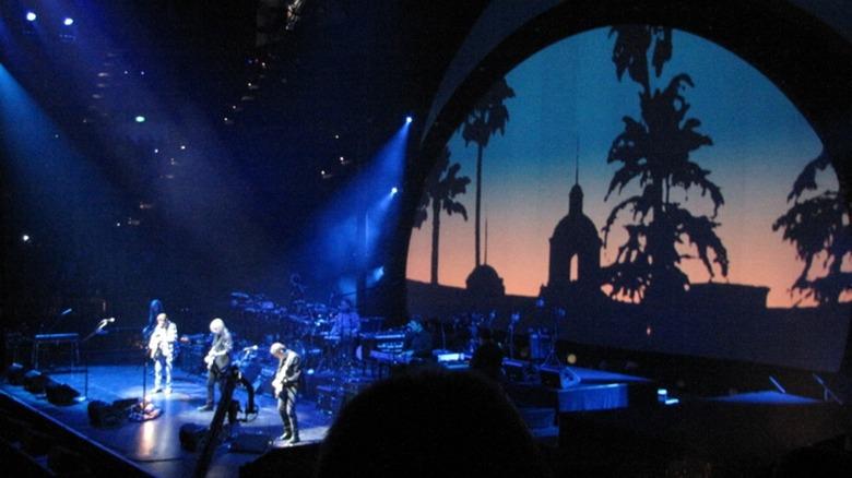 The Eagles perform Hotel California