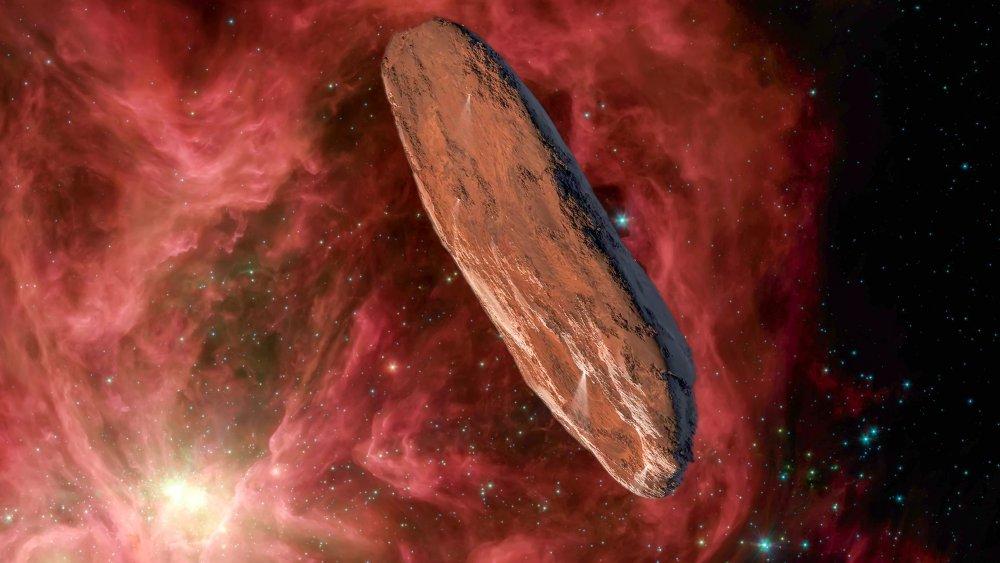 oumuamua comet space interstellar