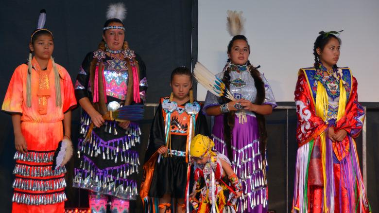 Members of Mohawk nation