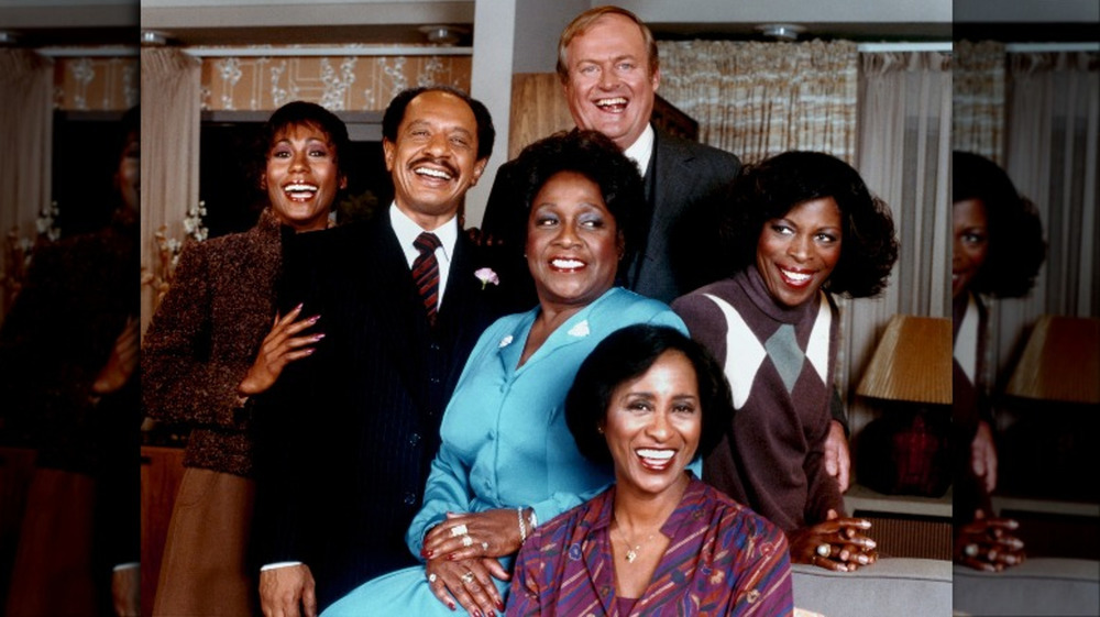 Cast of 'The Jeffersons' in 1977